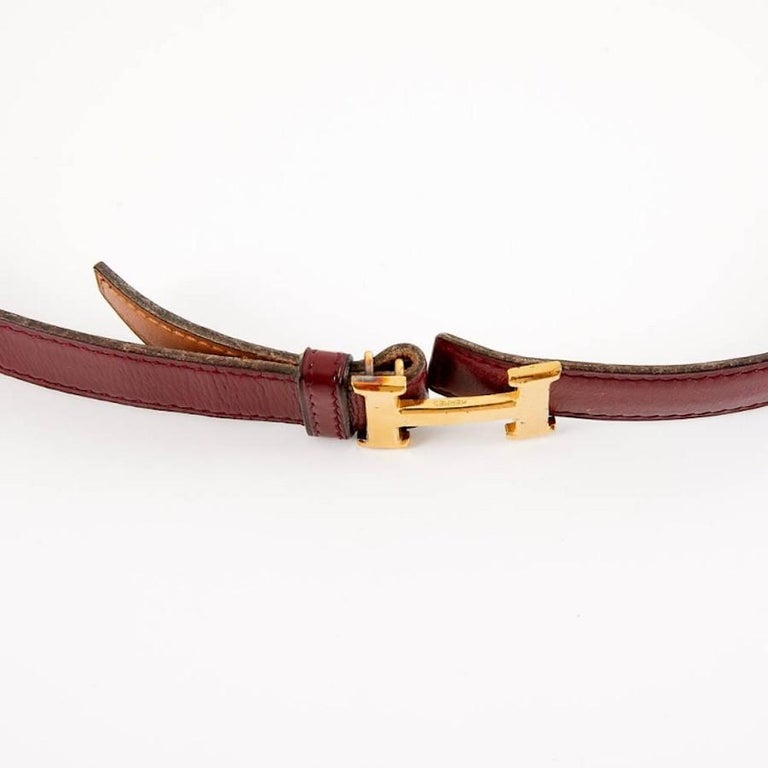 HERMES Vintage H Buckle For Sale 1