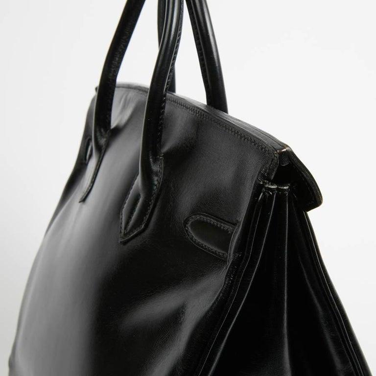 HERMES Vintage HAC 32 Leather Box Bag 8