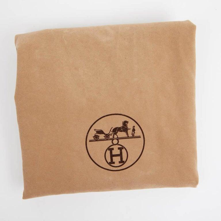 HERMES Vintage HAC 32 Leather Box Bag 13