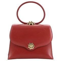 Hermes Vintage Ilio Top Handle Bag Box Calf