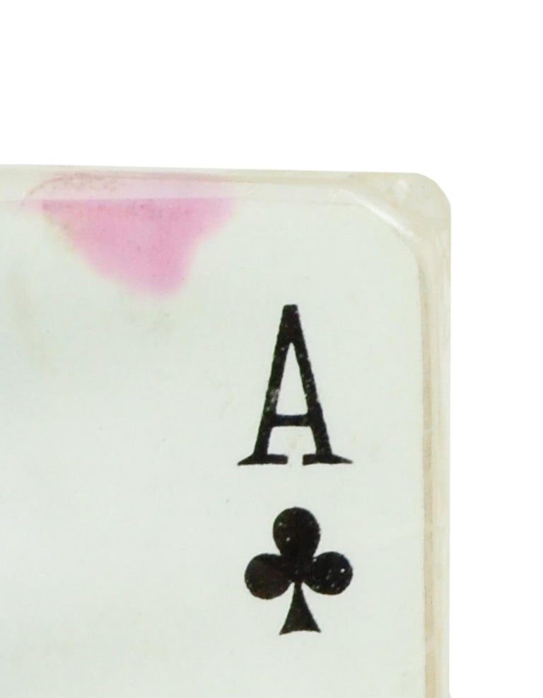 Women's or Men's Hermes Vintage Mini Playing Cards For Sale