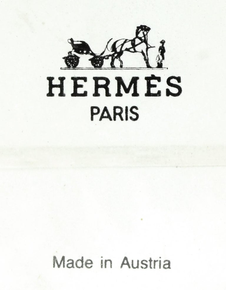 Hermes Vintage Mini Playing Cards For Sale 1