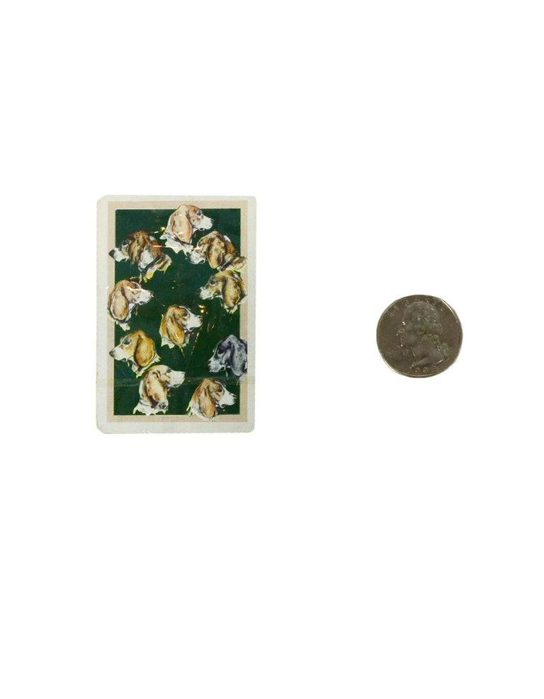 Hermes Vintage Mini Playing Cards For Sale 2