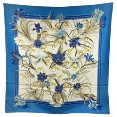 Hermes Vintage Rare Silk Scarf La France Hippique Lenke Szechenzyl