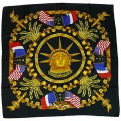 Hermes Vintage Silk Carre Scarf Liberty by Joachim Metz