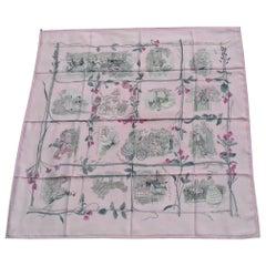Hermès Vintage Silk Scarf La Comtesse de Segur Philippe Dumas 1982 2A 35' Rare