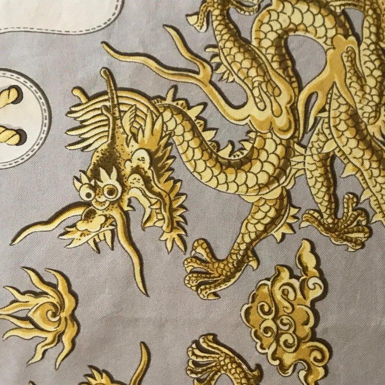 Hermes Vintage Silk Scarf
