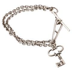 Hermes Vintage Sterling Silver Bracelet