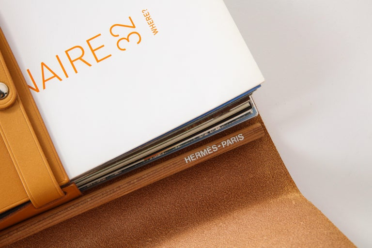 Leather Hermès Visionaire Limited Edition Case For Sale