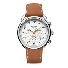 Hermes Watch Hermes Arceau Chronograph Model#AR4.910.132/INA2