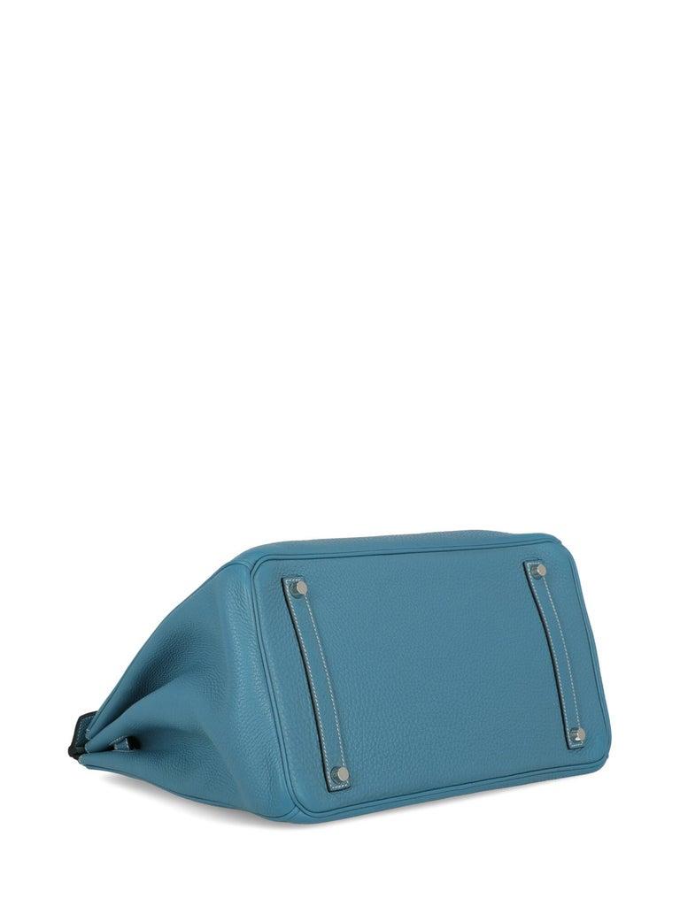 Hermes Woman Birkin 35 Blue  For Sale 1
