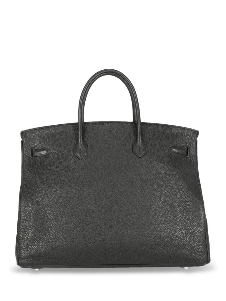 Women's Hermes Woman Birkin 40 Black  For Sale