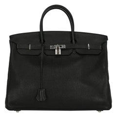 Hermes Woman Birkin 40 Black