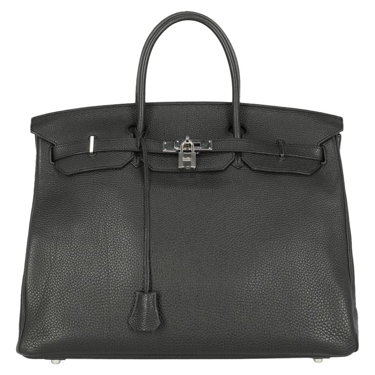 Hermes Woman Birkin 40 Black  For Sale