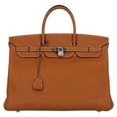 Hermes Woman Birkin 40 Brown