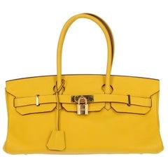 Hermes Woman Birkin Shoulder Yellow