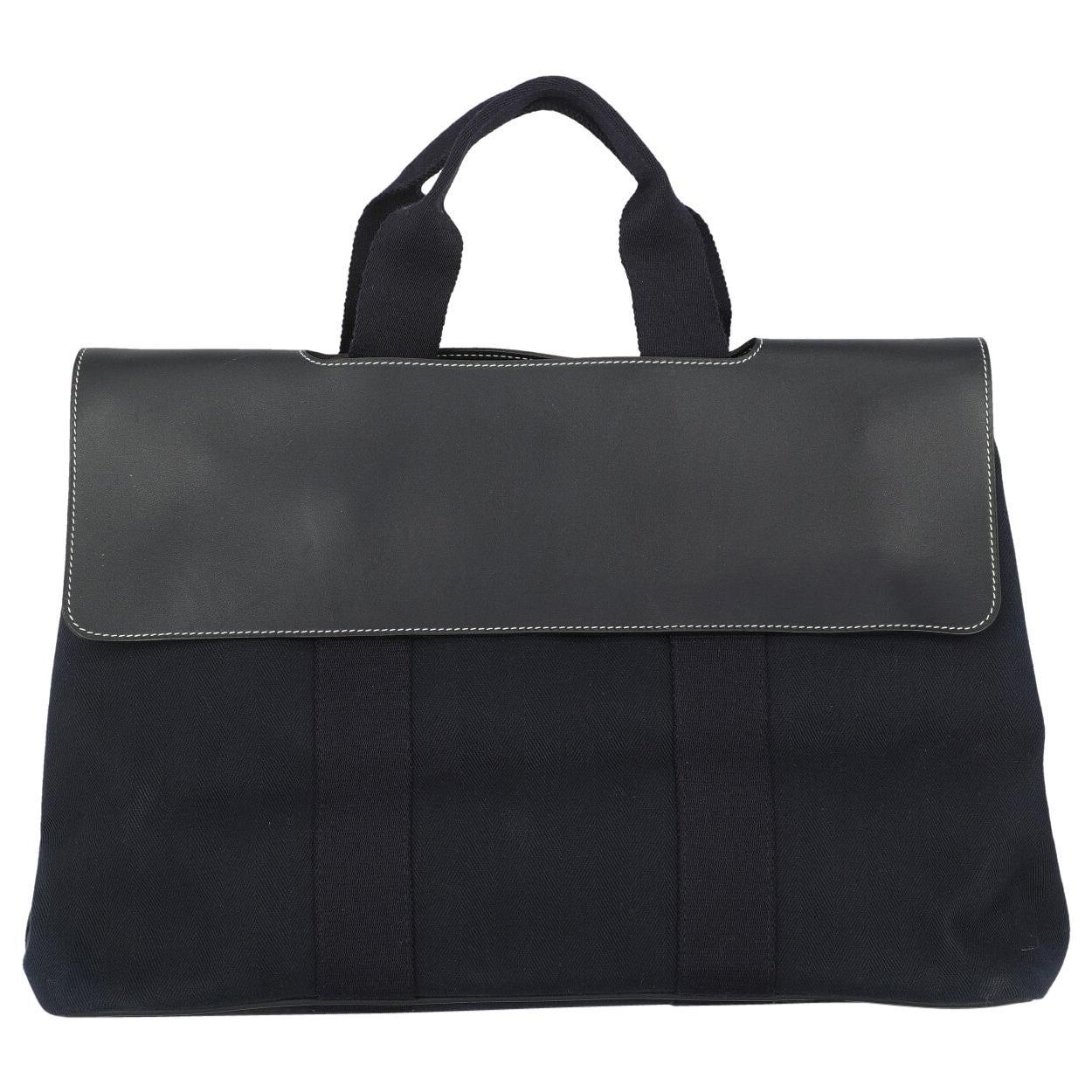 Hermès Woman Handbag  Navy Fabric