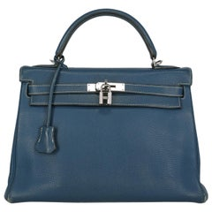Hermes Woman Kelly 32 Navy