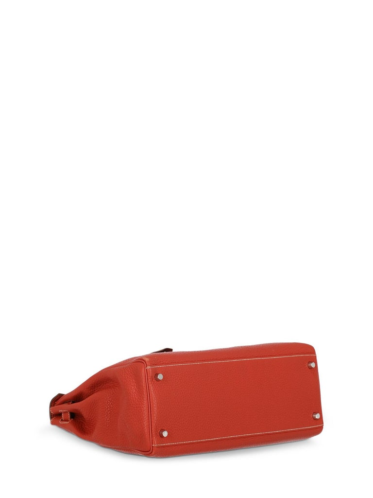 Hermes Woman Kelly 35 Red  For Sale 1