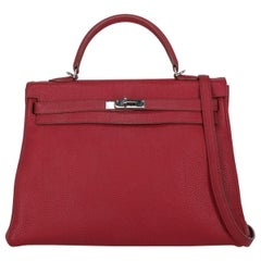 Hermes Woman Kelly 35 Red
