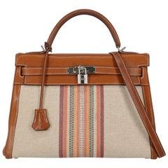 Hermès Women's Tote Bag Kelly 32 Brown Leather