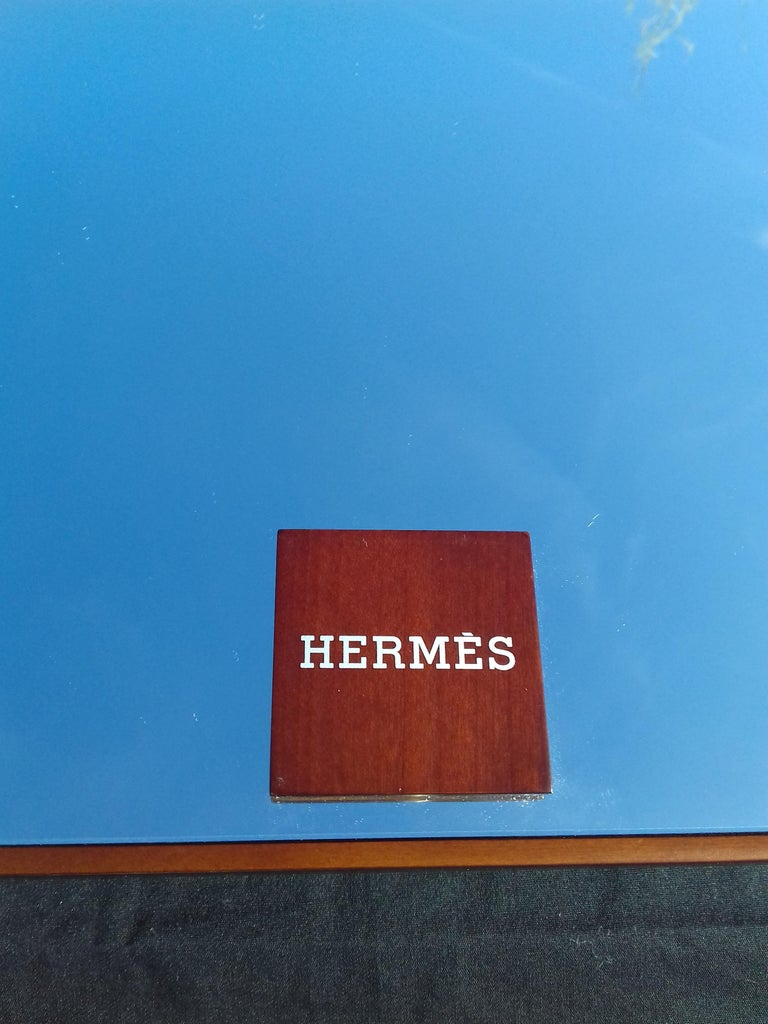 Hermès Wooden Mirror In Excellent Condition For Sale In ., FR