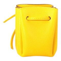 Hermès Yellow Epsom Vespa Pouch