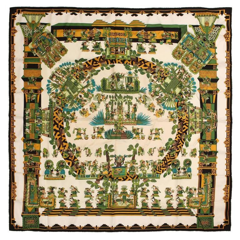 Hermès Astres et Soleils 90 cm Silk Scarf