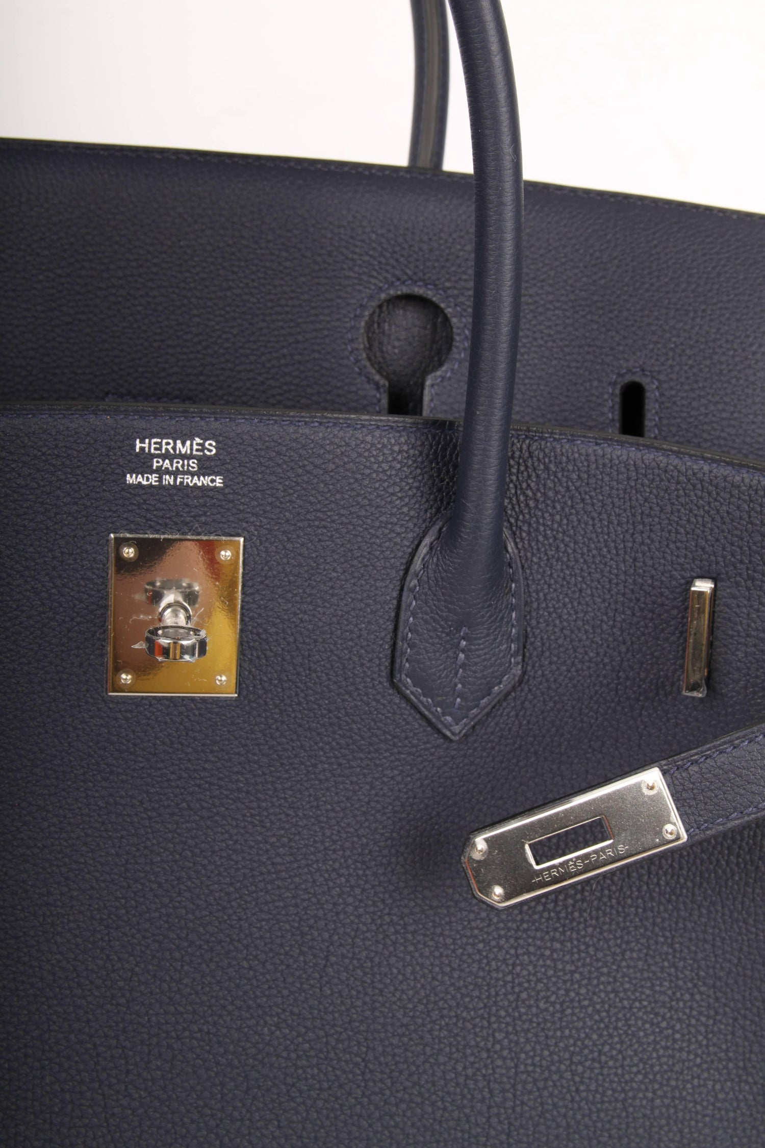 2be1a39fc0bf Hermès Birkin Bag 40 - Bleu Nuit 2018 at 1stdibs