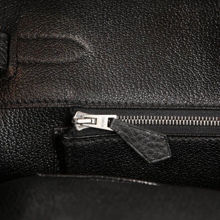 621cbeb7794a Hermès Black Togo Leather 35 cm Birkin Bag with Palladium HW at 1stdibs
