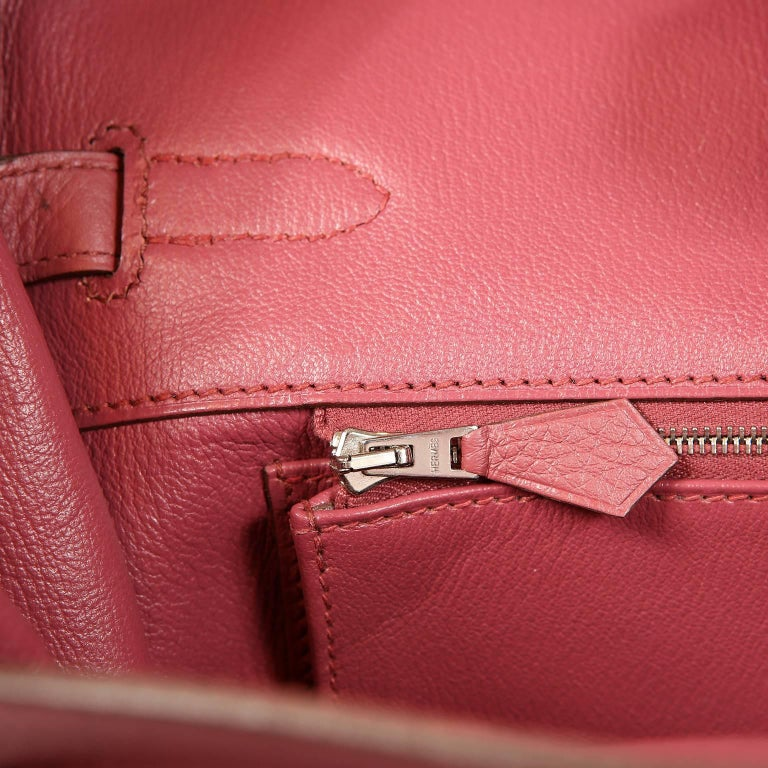 0a866ec86a99 Hermès Bois de Rose Togo Leather 35 cm Birkin Bag For Sale at 1stdibs