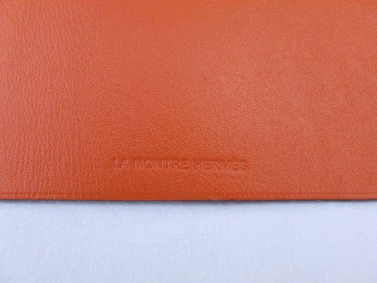 Hermès Clickazoo La Colombe Dove Foldable Leather Animal   For Sale 2