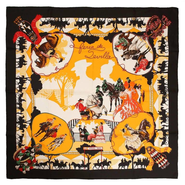 Hermès Feria de Sevilla 90 cm Silk Scarf