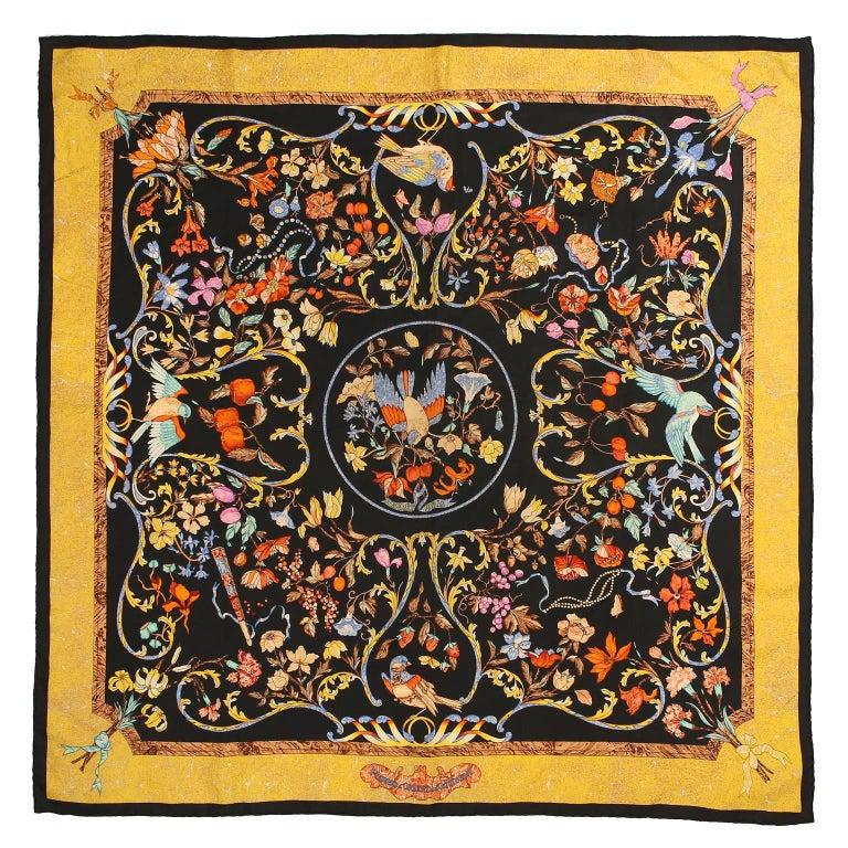Hermès Pierres d'Orient et d'Occident 90 cm Silk Scarf