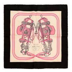 Hermès Pink Brides de Gala Pochette Silk Scarf