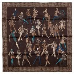 Hermès Printemps Ete 69 / Automne Hiver 70 Silk Scarf