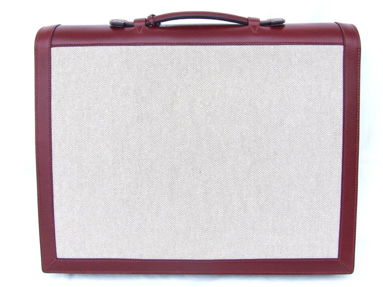 Exceptionnal and rare Authentic Hermès Briefcase