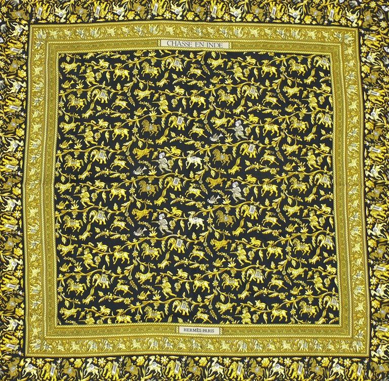 HERMES silk carré