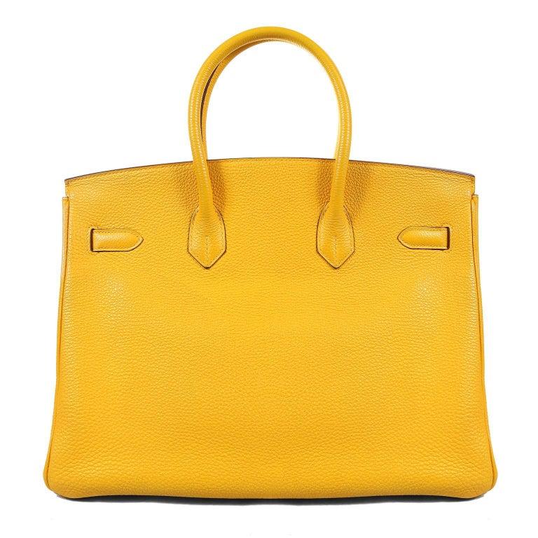 455cc0c6d81 Hermès Soleil Togo 35cm Birkin Bag- Pristine condition  appears never  carried. Waitlists exceeding