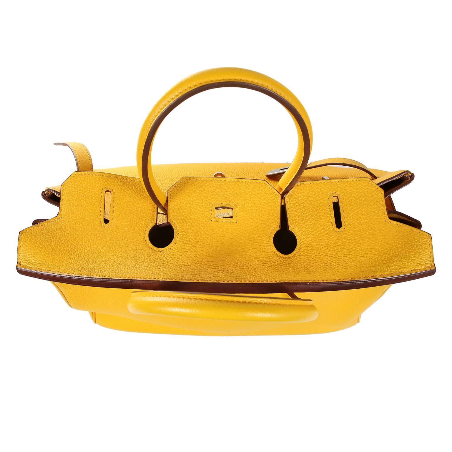 16728fcccd76 ... best hermès soleil yellow togo 35cm birkin bag with palladium for sale  5 aef1f 21297