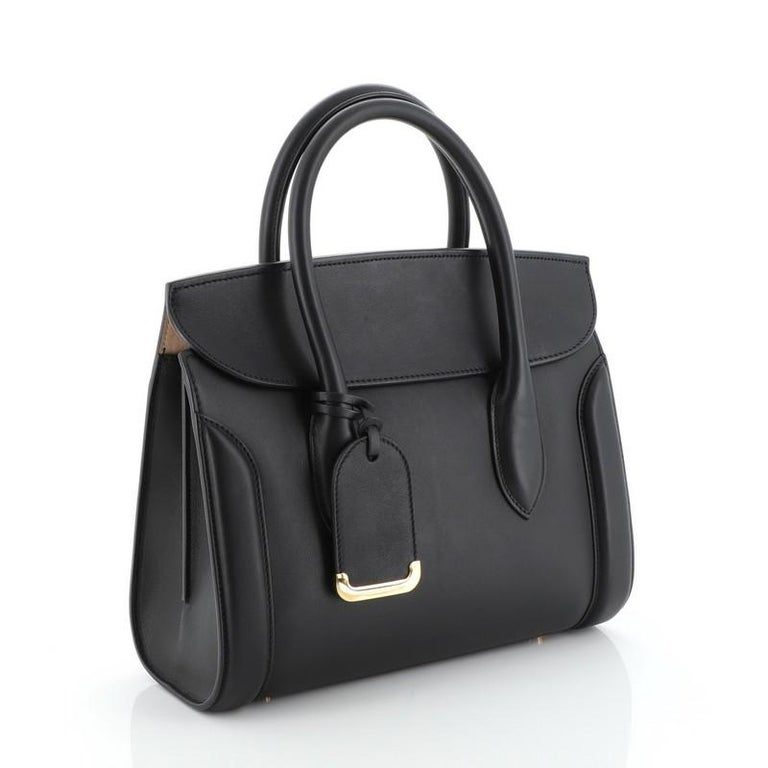 Heroine Convertible Tote Leather 30 In Good Condition For Sale In New York, NY