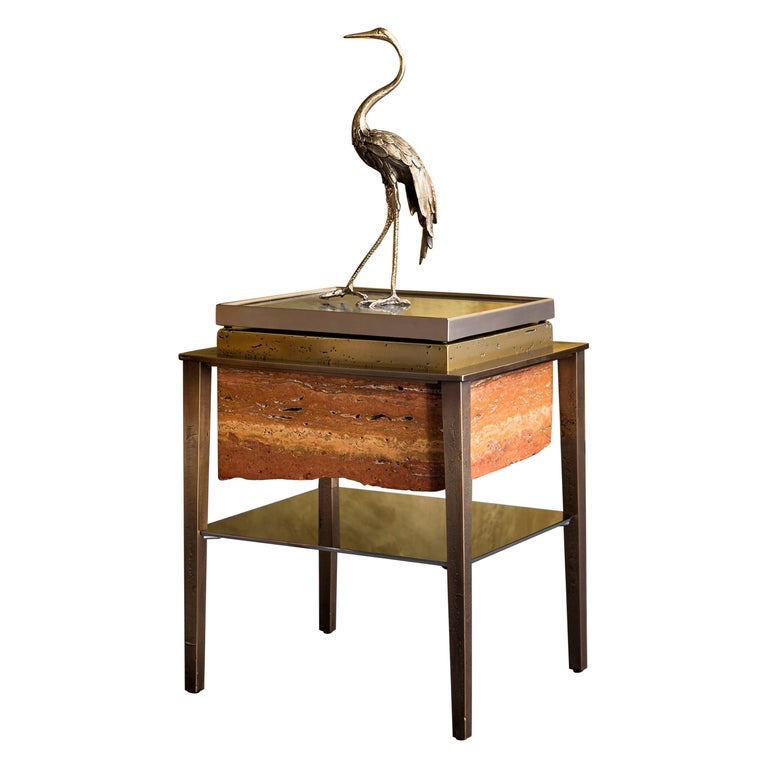 Heron II Sculpture by Gianluca Pacchioni For Sale