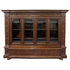 Herrenzimmer Cupboard Bookcase Antique Table Display Case Löwentatz
