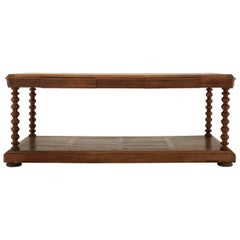 Herringbone Inlay French Draper's Table