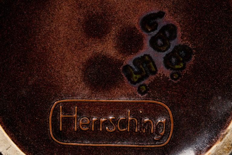 Herrsching German Jugendstil Ceramic Vase For Sale 1