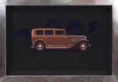 Automotive design for Alexis Kellner AG Berlin: Pullman Limousine Adler Standard