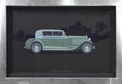 Cabriolet coachwork design by Alexis Kellner AG for the Packard Custom Eight.