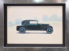 Sport Cabriolet coachwork design by Alexis Kellner AG for an Austro-Daimler.