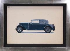 Sport Cabriolet coachwork design by Alexis Kellner AG for the Cadillac 28