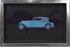 Sportcabriolet coachwork design by Alexis Kellner AG for  an Austro-Daimler.